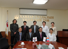 의료원 - 몽골 National Cancer Center MOU 체결